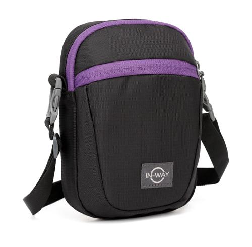 黑及深紫 (Black & deep purple)