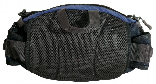 腰帶不使用時可以折下放入包身後面隱藏收納
